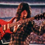 LIFE'S A BICH: Perry and his BC Rich Bich guitar in front of another stadium crowd during the late 1970s. It's safe to wager Perry is as amped as his guitar.