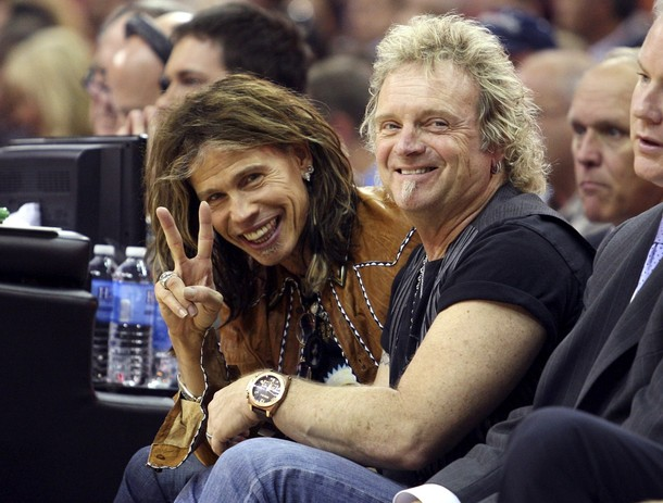 """AMERICAN IDLES: When Aerosmith was put on hold following another round of infighting and singer Steven Tyler's stint on """"American Idol,"""" rumors circulated that Kramer and the rest of the band were seeking a replacement singer. Among the names making the gossip rounds were Sammy Hagar and Buckcherry singer Josh Todd. With due respect to both, not even God can replace Tyler. (photo by Aaron Josefczyk)"""