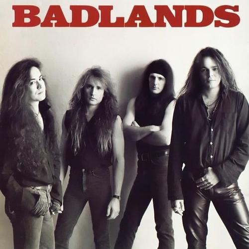 XXXXX: Todd's brother, Greg (second from right), in the mighty Badlands featuring, from left, former Ozzy guitarist Jake E. Lee, current KISS drummer Eric Singer and dearly departed one-time Black Sabbath singer Ray Gillen