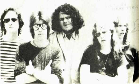 Hell-O Cleveland!:Prior to forming the Dead Boys, Cheetah, second from right, was in the Cleveland band, Rocket From the Tombs. The band is cited as the birthplace of later-day Dead Boys songs like 'Ain't it Fun,' 'Sonic Reducer' and 'Caught With the Meat in Your Mouth,' among others.