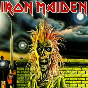 "MAIDEN VOYAGE: The debut album that would help redefine heavy metal was released in 1980 and featured Maiden's longstanding mascot, ""Eddie,"" on the cover. Artwork by Derek Riggs."