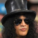 NON-POISONOUS: Guitar hero Slash managed to find success with a fairly decent Plan B.