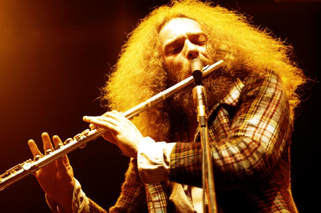 LOCOMOTIVE BREATH: This man is not only a legend in his own right, but also will forever be known as the guy who beat Metallica at the 1988 Grammy Awards for Best Hard Rock/Metal performance. Yes, this man. The guy with the flute!