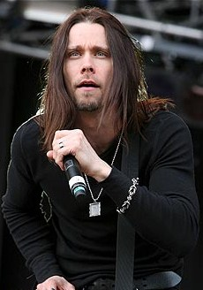 MYLES AWAY: After a stint with former members of Creed, singer Myles Kennedy is now riding shotgun with Slash.