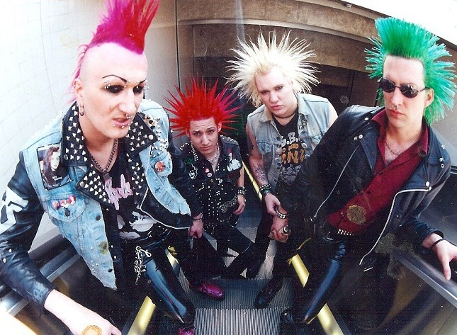 The Mistakes Erased Before Making A Mark Glam Punks