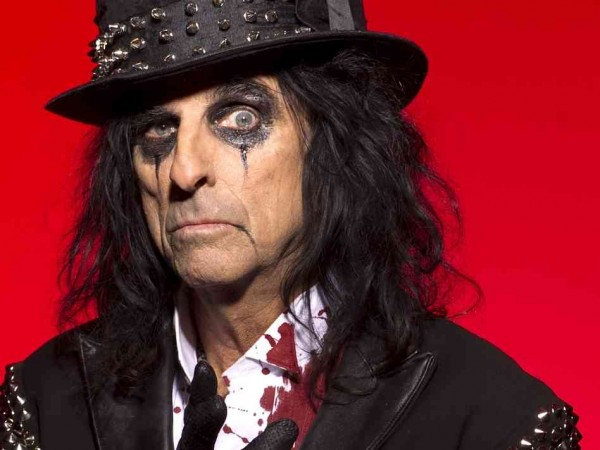 SNAKE CHARMER: Alice Cooper has welcomed generations to his nightmare