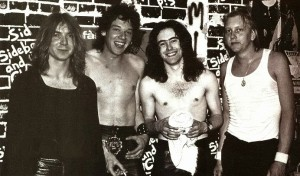 THE YOUNG ONES: An early lineup of Maiden featuring Murray, Di'Anno, Harris and then-drummer Douog Sampson.